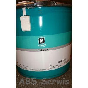 Molykote 33 medium 5kg smar silikonowy
